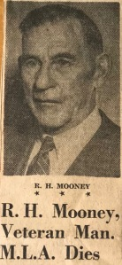R.H. Mooney Obit